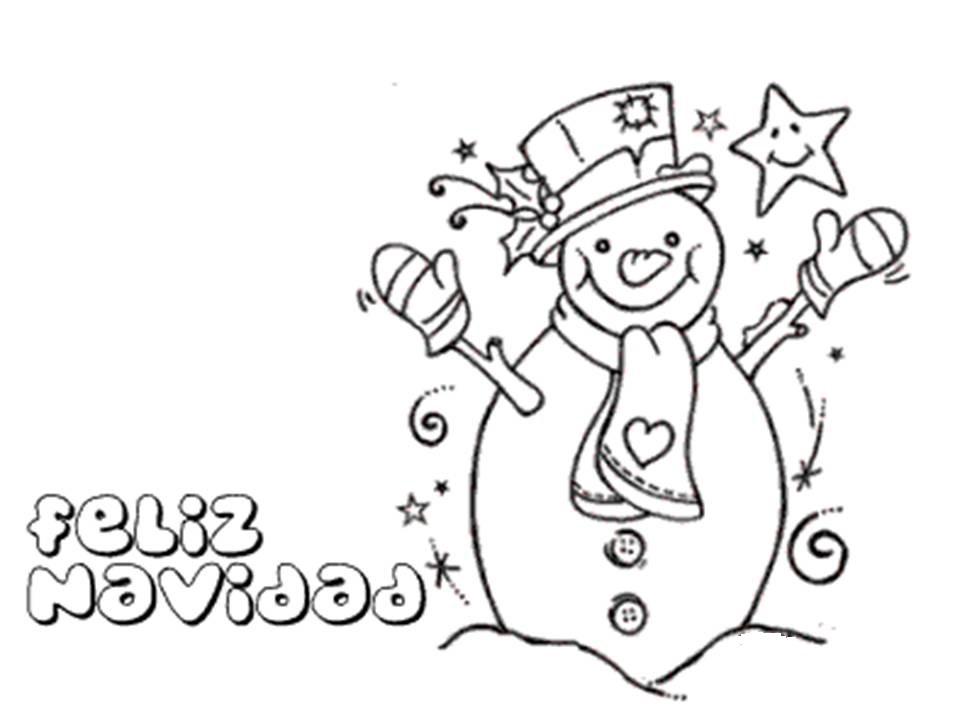 imagen de feliz navidad con olaf muneco de nieve para dibujar y ...