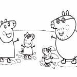 Familia Pig Peppa papa mama george