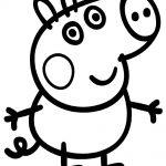 George Pig dibujos