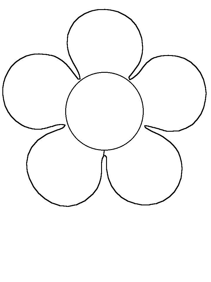 Im genes de flores para colorear dibujos de for Dormitorio para dibujar facil