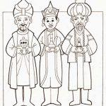Los Reyes Magos Melchor Gaspar y Baltazar