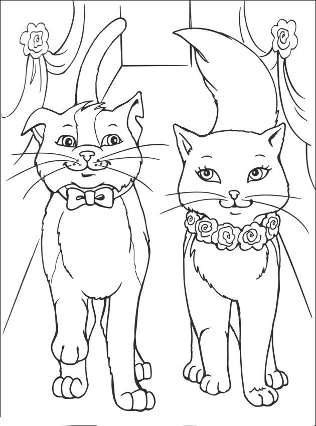 Imágenes de Gatos para Colorear - Dibujos De