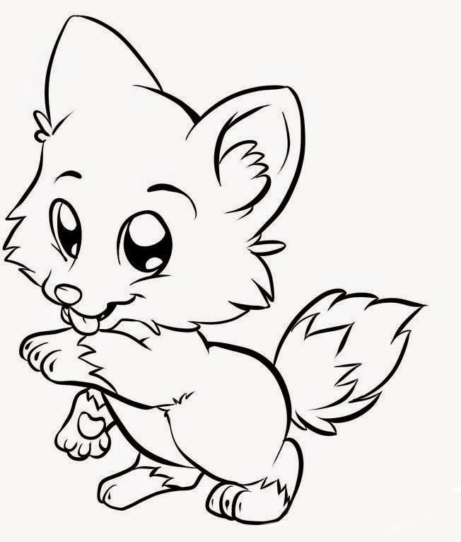 Imágenes De Animales Bebés Para Colorear Dibujos De