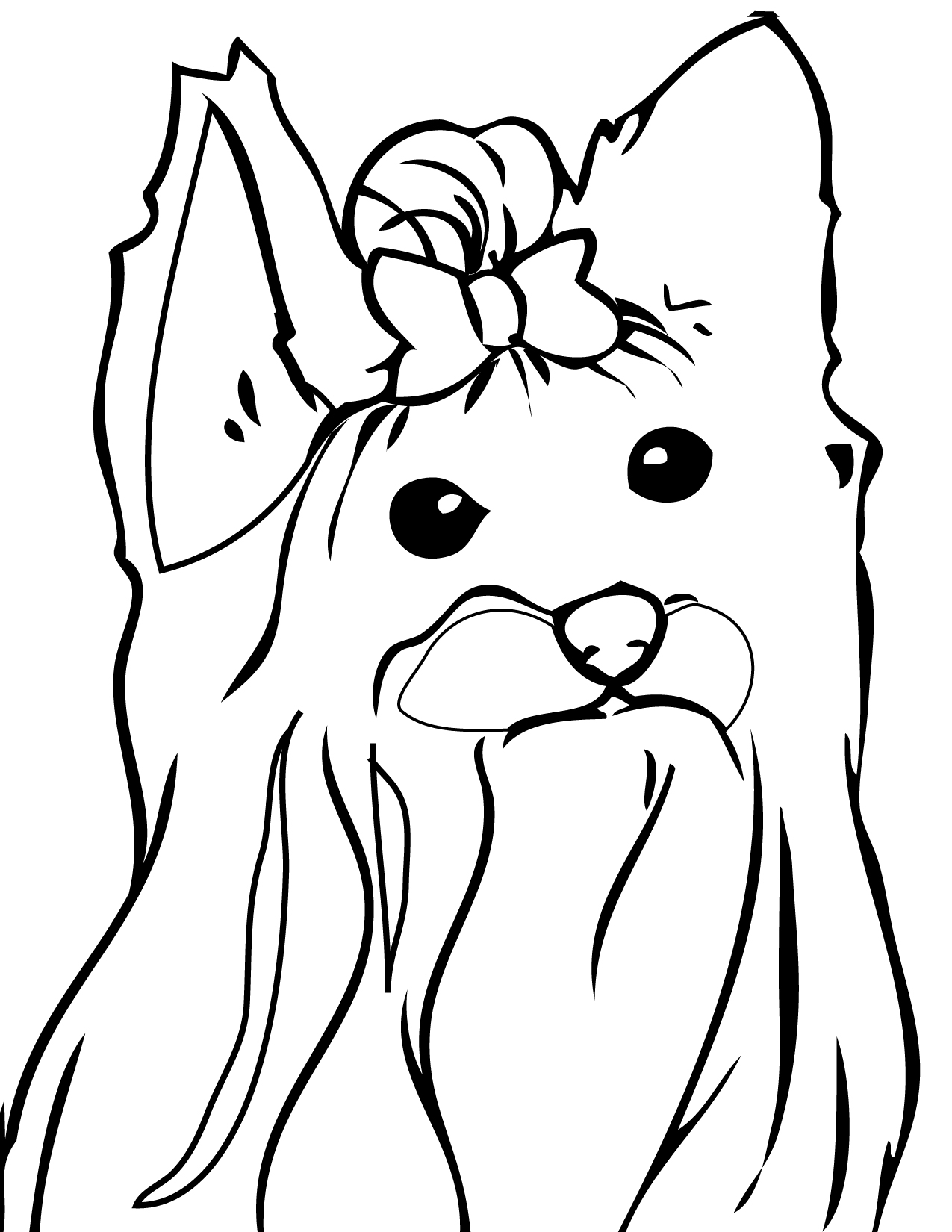 perros-para-imprimir - Dibujos De