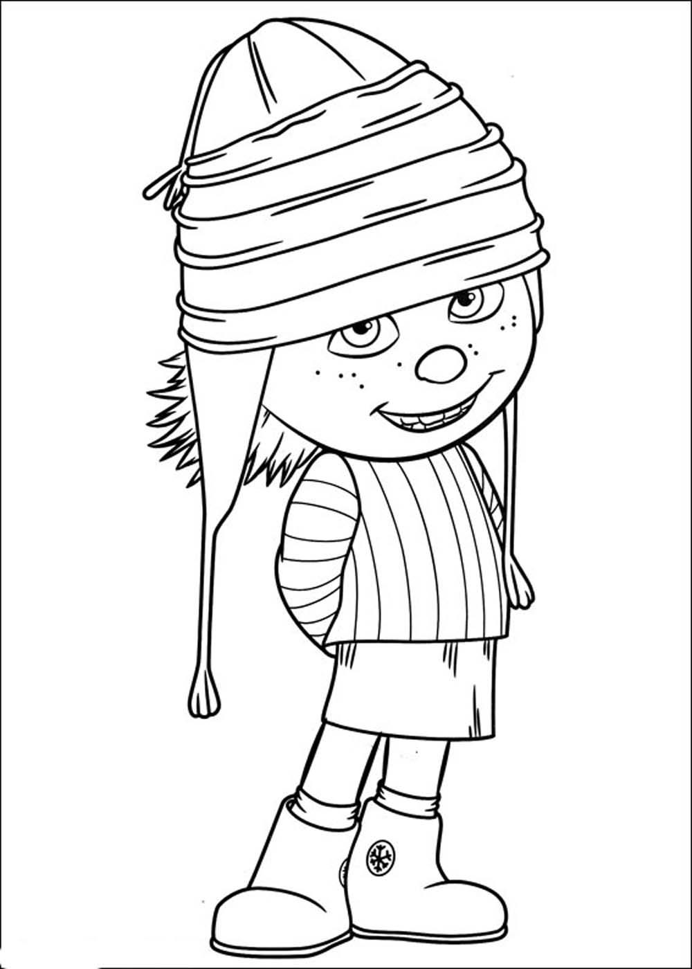 Imágenes de Minions para colorear - Dibujos De