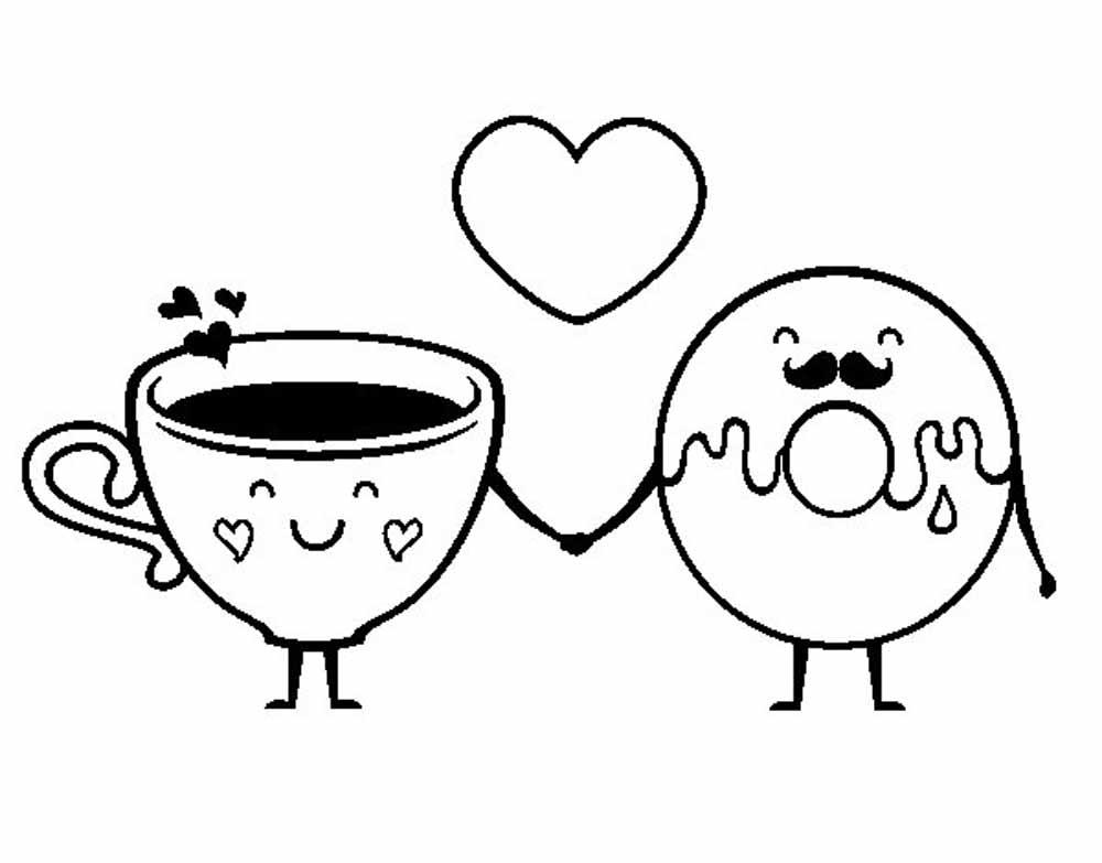 ❤💋💏🌹 Imágenes de San Valentin para colorear - DibujoDe ❤💋💏🌹