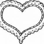 Corazon con Encaje sensual para el 14 de Febrero