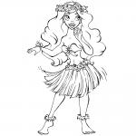 Princesa Moana hermosa