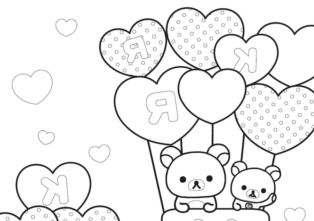 gatitois-con-globos-en-forma-de-corazon-para-san-valentin-para ...