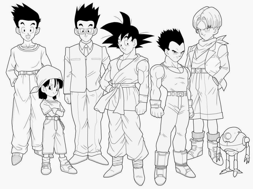 Imagen de Goku adulto con los guerrero de dragon ball GT para ...