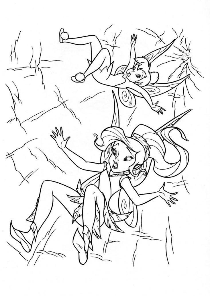 Campanilla Dibujos Disney Para Colorear Amigas Hadas Friends