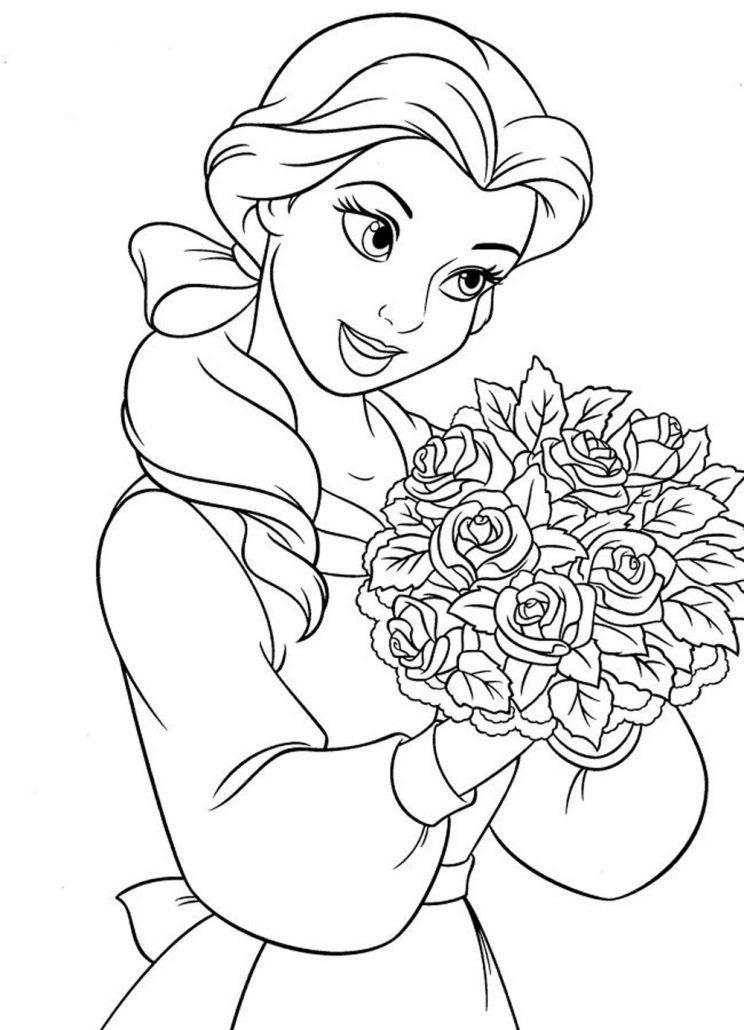cenicienta-disney-princesas-para-colorear - Dibujos De