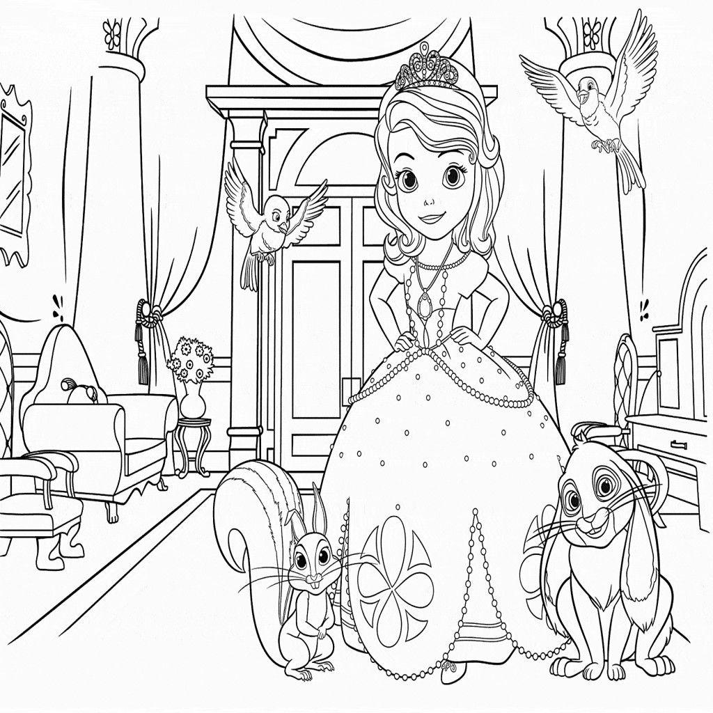 dibujos de la princesa sofia para colorear dibujos disney - Dibujos De
