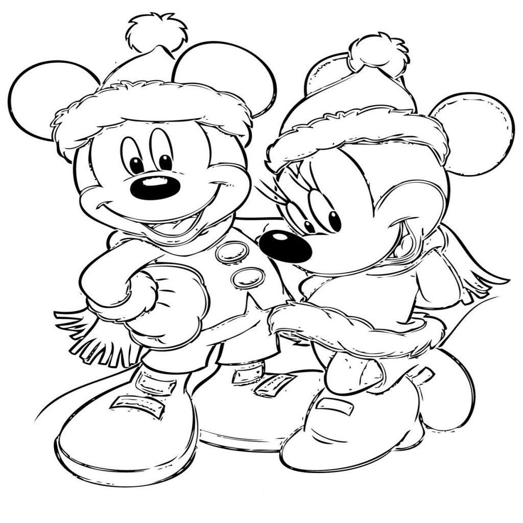 Dibujos Disney Navidad Para Colorear E Imprimir Gratis Dibujos De - Navidad-dibujos-para-colorear-e-imprimir