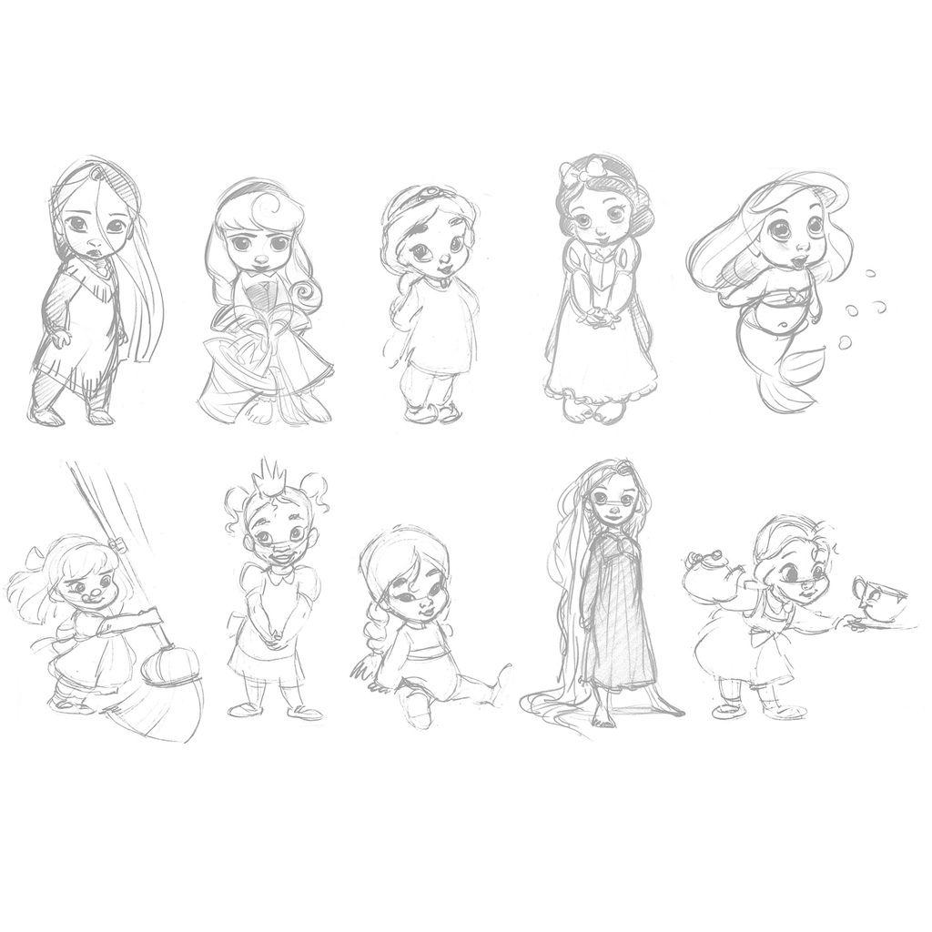 Dibujos Para Colorear De Princesas Disney Online Dibujos De