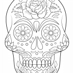 Imagen para dibujar y colorear de azucar