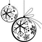 adornos de esferas de Navideno para colorear dibujar recortar y adornar
