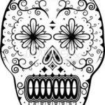 Imagen para dibujar y colorear sorprendida