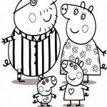 Familia Pig en Pijama