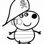 George Pig disfrazado de Pirata