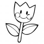 Imagen de Flor para Dibujar y recortar y pegar en tus cuadernos