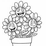 Imagen de Flor para Iluminar y colocar en el salón de clases
