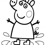 Peppa Pig con botas de agua