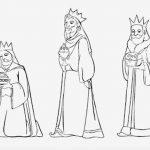 Tres reyes Magos entregando el oro incienso y mirra