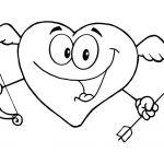 Corazon Cupido para el día de los enamorados